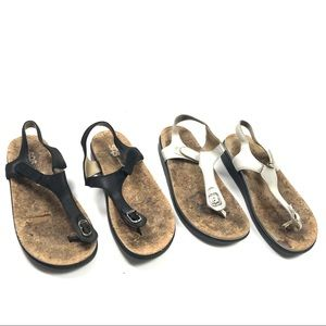 SAS 8 Marina T Strap Comfort Sandals Shoes 2 Pairs